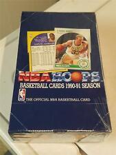 1990-91 Hoops Basketball Factory Sealed Wax Box CASE FRESH Jordan PSA