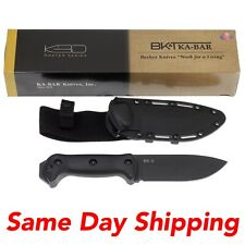New Ka-Bar KaBar Knives Becker Companion Fixed Blade Plain With Sheath BK2