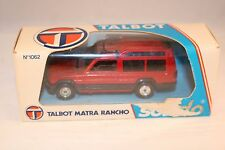 Solido 1062 Talbot Matra Rancho 1:43 perfect mint in box