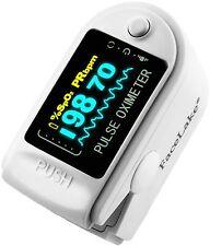 Pulse Oximeter Fingertip CMS50D / FL350 Blood Oxygen SpO2 Monitor FDA - White