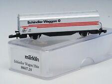 "88657.10 Marklin Z-Scale ""Schindler"" Freight Car,Hbis Swiss SBB Special Edition"