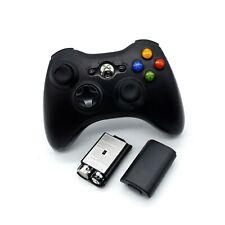 Titular de la batería cubierta Xbox 360 controlador inalámbrico nuevo caso Shell Pack AA Negro