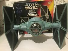 Star Wars Kenner Tie Fighter spaceship, issued 1995 with blast off wings +box