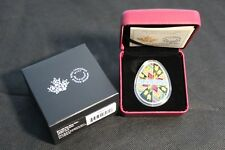 2017 Royal Canadian Mint $20 Fine Silver Coin: Traditional Pysanka