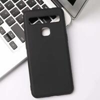 "For TCL 10L / 10 Lite Case, (6.53"") Black Soft TPU Silicone Slim Gel Phone Cover"