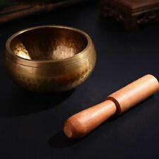 Buddhism Copper Singing Bowl Handmade Tibetan Yoga Meditation Bowl Crafts 9.5CM