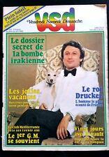 VSD n°147 de 26/07/1980; Le roi Drucker/ 20 jours avec Hinault/ Kubrick/ 50 cc