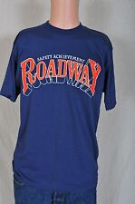 Vintage '80s Roadway Safety Achievement soft blue t shirt Artex M