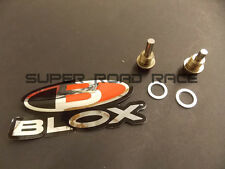BLOX RACING MAGNETIC DRAIN PLUG SET OIL AND TRANSMISSION FOR HONDA CRX CIVIC EG
