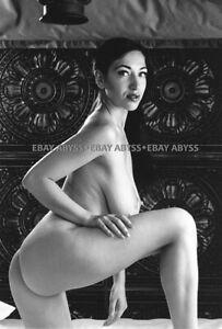 Nude 35mm Negative Busty Female Model Vintage Original Pinup 4.1