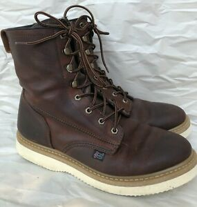 Justin Lace-Up Work Boots Style WK908 Size 11 M