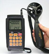 NEW Smart Sensor AR856 Air Flow Anemometer Infrared Temperature USB Software