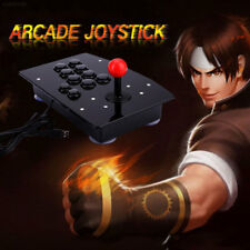 Wired USB Arcade Fighting Stick Joystick Controller Gamepad Video Game For PC