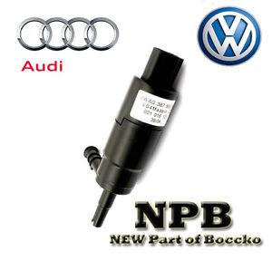 Genuine Volkswagen AudI Washer Pump Windshield Back Glass Headlight