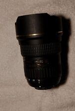 Tokina AT-X SD 16-28mm f/2.8 (IF) FX Lens For Nikon. Box and rear lens cap.