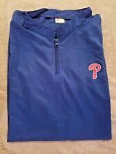 Philadelphia Phillies Vest Blue Zip Neck XL Fathers Day SGA 6/9/2019 Chevy  NEW!