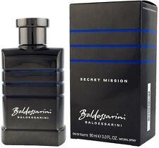 Baldessarini Secret Mission 3.0 oz 90 ml Eau De Toilette For Men New in Box