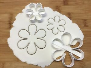 Flower Shape Large And Small Cookie Cutter Biscuit Pastry Fondant