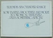 TRIUMPH 2500S 2000TC & 2500TC Car Brochure 1975 #T1191/5.75