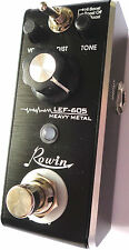 Rowin lef-605 Chitarra Heavy Metal MINI EFFETTO A PEDALE CON TRUE by-pass