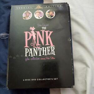 Pink Panther 6 Dvd set peter sellers free ship u.s.