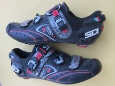 Sidi Ergo 2 Carbon sole 3-bolt 44.5 Euro / US-10.25 Mens black 3-bolt road shoes