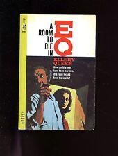 A ROOM TO DIE IN - Ellery Queen, 1965  1st US  SB  VG