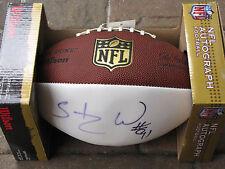 STYLEZ Greg WHITE #91 Auto Signed NFL Wilson The Duke Autograph Football TB Bucs