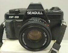 Seagull DF-99 35mm Film Camera with f=50 1:1.8 Seagull Lens -TESTED A18 RARE