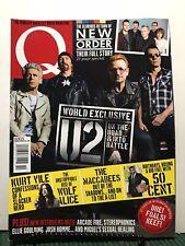 Q Magazine U2 World Exclusive Return Of New Order October 2015 FREE SHIPPING JB