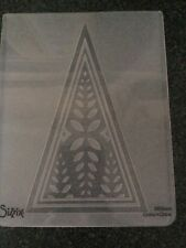 SIZZIX EMBOSSING FOLDER LONE TREE LARGE NEW FITS MOST MACHINES GEMINI FREE P&P