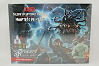 Dungeons And Dragons Monsters Paint Set New