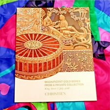CHRISTIES CATALOG 7 JULY 2016 KING STREET MAGNIFICENT GOLD BOXES