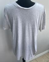 Men's T-shirt Size M White H&M Grey Mottled <MM1073