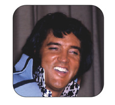 Elvis Presley Coaster size 9cm by 9cm Elvis the king drinks coasters
