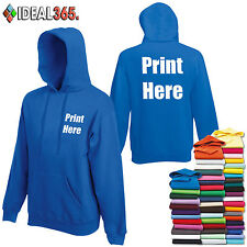 Printed Hoodies Personalised Stag Do/Work Wear/Event FREE DELIVERY