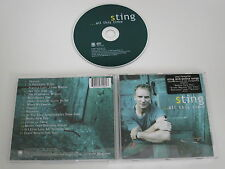 STING/...ALL THIS TIME(A&M RECORDS 493 156-2) CD ALBUM