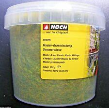 (13,60€/100g) NOCH 07076 Master Grasmischung Sommerwiese, 2,5-6 mm, 100 g Dose