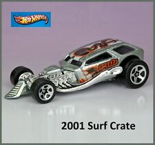 1999 Surf Crate. Snake Tampo. Metalflake Silver New LOOSE, Fresh Out of the Box!