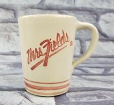 Mrs. Fields Cookies American Pottery Stoneware Hand Thrown Coffee Mug / Tea Cup