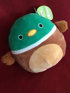 "WoW 8"" AVERY the Green Mallard DUCK Bird Easter 2021 Squishmallow Plush Toy NWT"