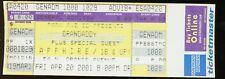 Grandaddy UNUSED 2001 CONCERT TICKET Software Slump Tour/stub/no-cd/lp MINT!