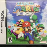 Super Mario 64 DS (Nintendo DS, 2004) Authentic Case, Manual & Inserts ONLY!