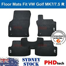 Prime Quality All Weather Rubber Car Floor Mats for VW GOLF R GTI MK7/ MK7.5