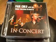 Paul Child with the Welsh Television Orchestra - In Concert ( New 15 track CD )