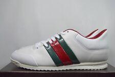 7e07d78c144 Gucci Women s Shoes 370499 Leather Sneakers miro Soft Moorea White G40+ 11US