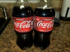 2 Cinnamon Coca Cola Soda 20 Oz. Bottles -Free Shipping- Limited Edition Coke
