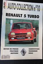 Auto Passion Horse Serie Auto Collection No 10 Renault 5 Turbo (French) (RB)