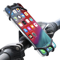 Universal Outdoor Bicycle Bike Handlebar Clip Mount Holder For Mobile Cell Phone