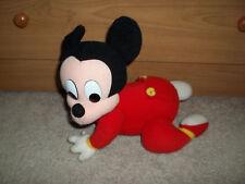 1995 Mattel Mickey Mouse Touch N Crawl Plush